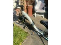 raleigh electric bike brand new with accessories