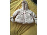 Baby girl absorba jacket 6m