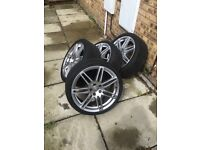 AUDI RS4 ALLOYS 19INCH (BARGIN)