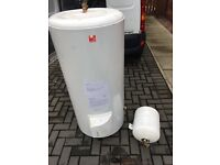 Unvented hot water cylinder 210ltrs (direct)