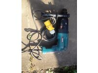 Makita SDS 110v Combi Drill