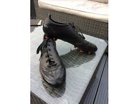 Adidas F50 size 12 black football boots
