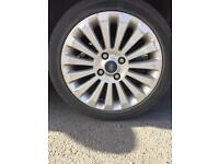 Wanted 16 inch 4 stud 15 spoke alloy 195/45r 16 For Ford Fiesta titanium Mk 8 or 9