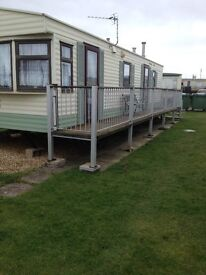 1st - 8th july avaiable to rent 2bedroomed caravan promenade site ingoldmell