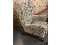 Fabulous Queen Anne rocking chair