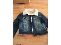 Next denim jacket never worn size 8