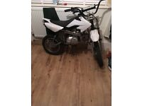 Semi auto 110 pitbike spares or repairs