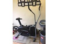 Confidence branded cross trainer