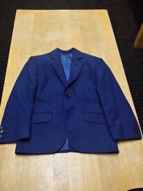 Boys Blue 3 Piece Wedding Suit. Size 4. Worn Twice