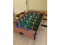 PRICE DROP Tabletop Table Football - comes with 1 ball