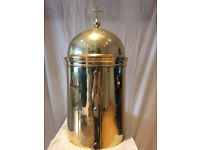Church Brass Tabernacle, antique, perfect condition.