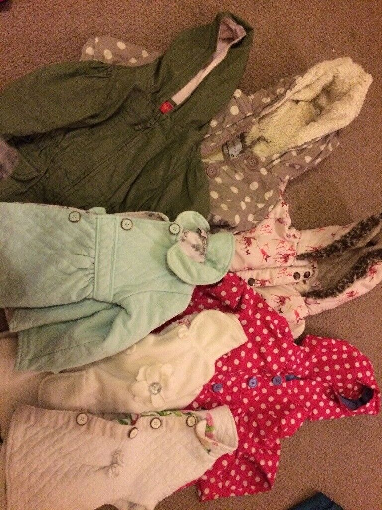 12-18 and 18-24 month girls clothes