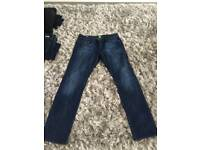 Hugo boss denims 34W 32L £30