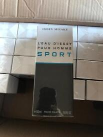 Brand new sealed bottle of Issey Miyake L'eau D'Issey pour homme Sport 50 ml