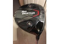 Big Bertha Alpha 816 Double Diamond Black Driver
