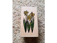 Flower Craft Stamp