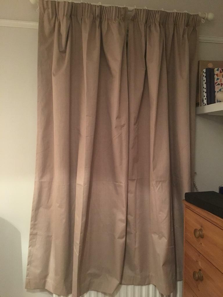 Nearly new curtains - Dunelm