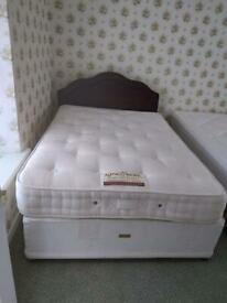 King koil double bed like new