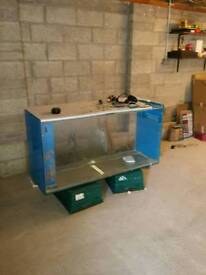 Marine Aquarium & various equipment.