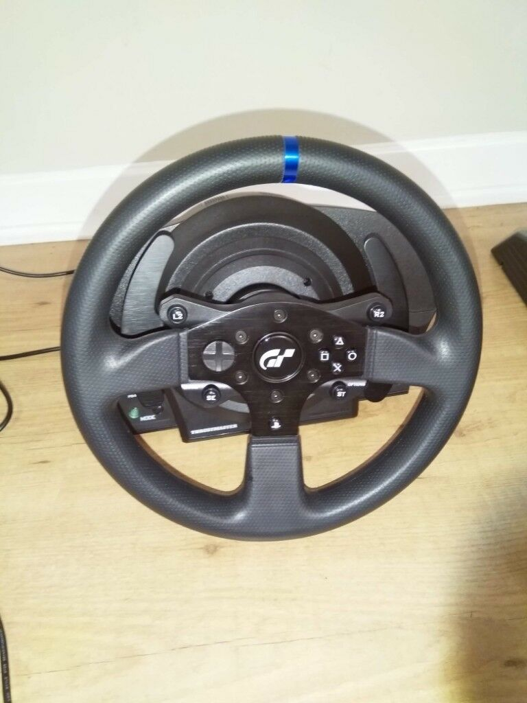 cf15b87b4c5 Thrustmaster T300 RS GT Edition Wheel and Pedals and TH8A Shifter ...