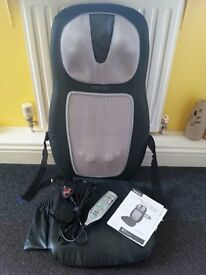 Massager with Soothing Heat : HoMedics Shiatsu 2-in-1 Back & Shoulder Massager £75