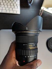 Tokina 11-16mm pro DX II (canon)