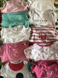 6-9 Month Baby Girls Clothes Bundle