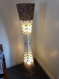 Unique standing lamp