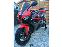 Honda Cbr 600rr 2007 Red (R6 Gsxr Zxr) Supersport