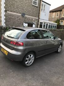 Seat Ibiza 1.4 sport for sale .. £1200.. ideal first car.. MOT due march 2018