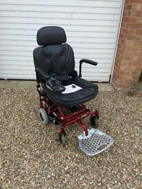 Ultralite 760 electric wheelchair with new batteries fitted