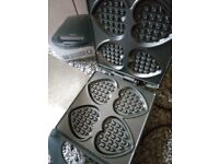 Brand new Waffle Maker (never used, in box and with 3 year warranty)