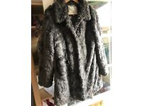 Lux fake fur silky soft coat