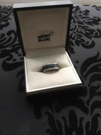 Montblanc men's ring boxed never worn