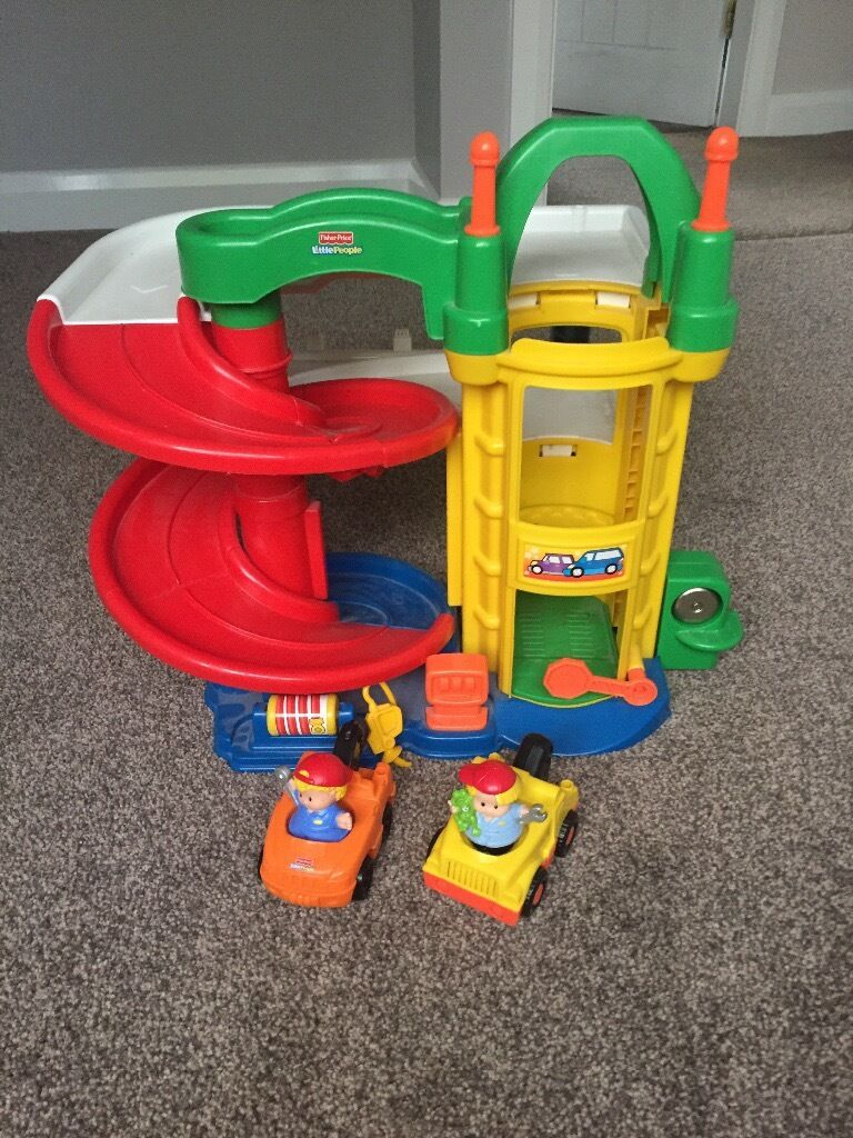 Fisher price little people garage and carsin Groby, LeicestershireGumtree - I have for sale this fisher price little people garage and cars, It is in a good condition from a smoke free home One car makes sounds , all in good working order