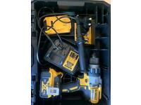 Dewalt xrp combo drills and tstak boxes