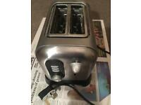 Stainless steel 2 slices toaster