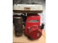 HONDA ENGINE WITH COUPLING,to fit go kart, plant, generator, rotivator, wacker plate