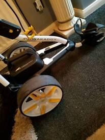 Powercaddy fw5 plug n play electric golf trolley