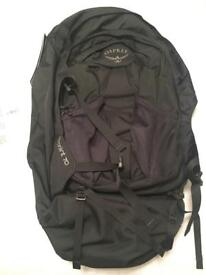 BRAND NEW osprey farpoint 70L S/M £100 rucksack backpack for travelling RRP£150