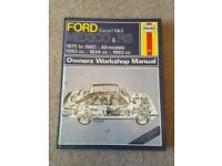 Ford escort mk|| Haynes manual