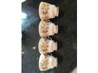 Bone china tea set (Colclough Hedgerow)