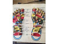 Reflexology board foot massager
