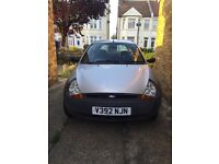 Ford KA Silver low mileage FSH, MOT and TAXED. Alloy wheels