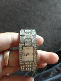 Ladies d and g watch