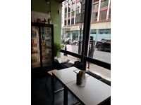 Small city centre cafe for sale