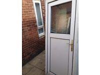 upvc back door £40