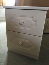 Bedside drawer cabinet