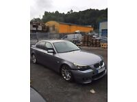 2005 BMW 525D E60 M SPORT BREAKING FOR SPARES ALL PARTS AVAILABLE ENGINE, BUMPERS, SAT NAV, ALLOYS