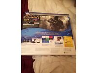 ps4 like new comes with one game still sealed swap for car or moped